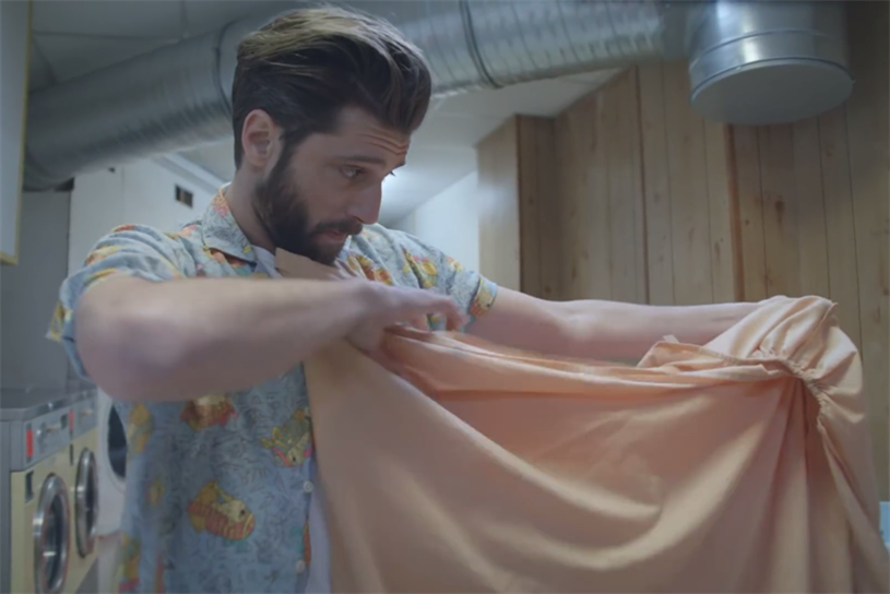 Being able to fold a fitted sheet is one of the skills of the modern man celebrated in Lynx's new ad