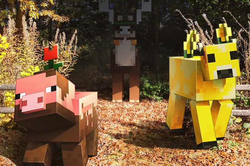 Minecraft Earth: characters get life-sized treatment