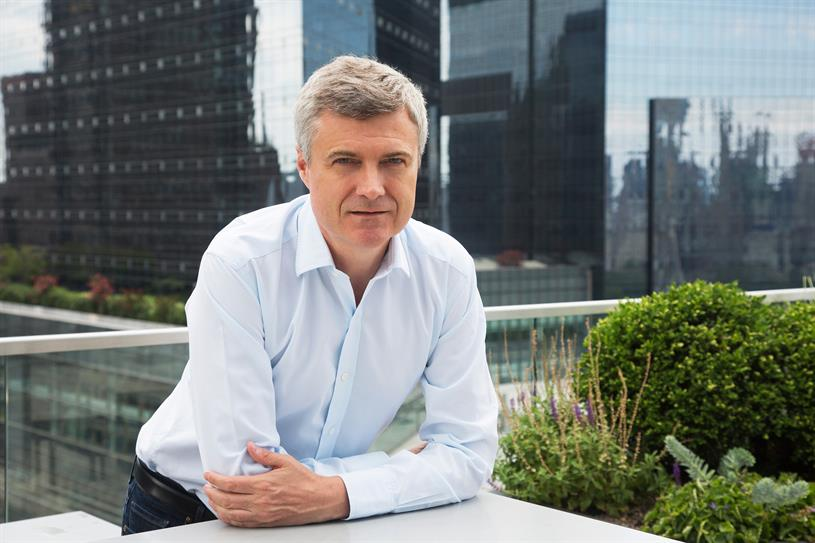 Read: presented WPP's earnings report in London