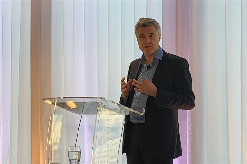 Read: speaking at WPP's investor day