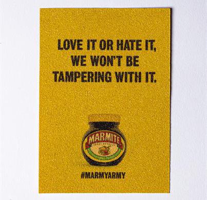 Marmite: special sandpaper