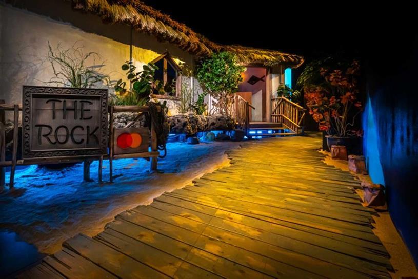 Mastercard: New York experience replicated Tanzanian restaurant The Rock