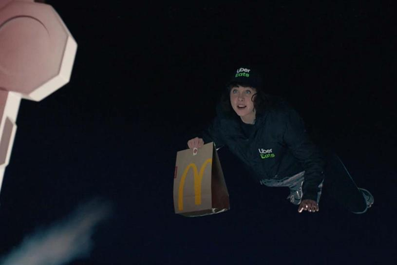McDelivery: sponsorship idents for movies on ITV are created by Leo Burnett