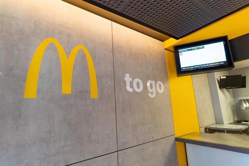 McDonald's: first takeaway store is on London's Fleet Street