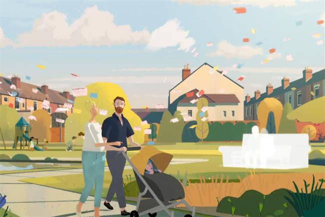 National Lottery ad by AMV BBDO