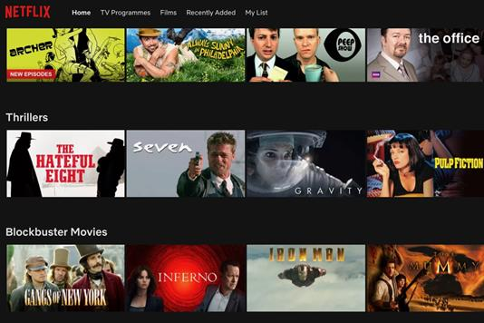 Netflix content will now be available on Sky Q