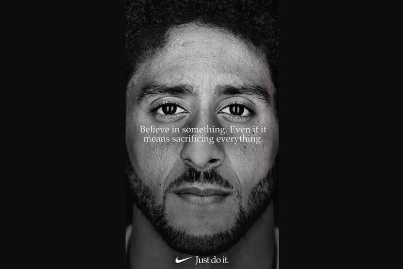 Nike: shows that polarisation pays