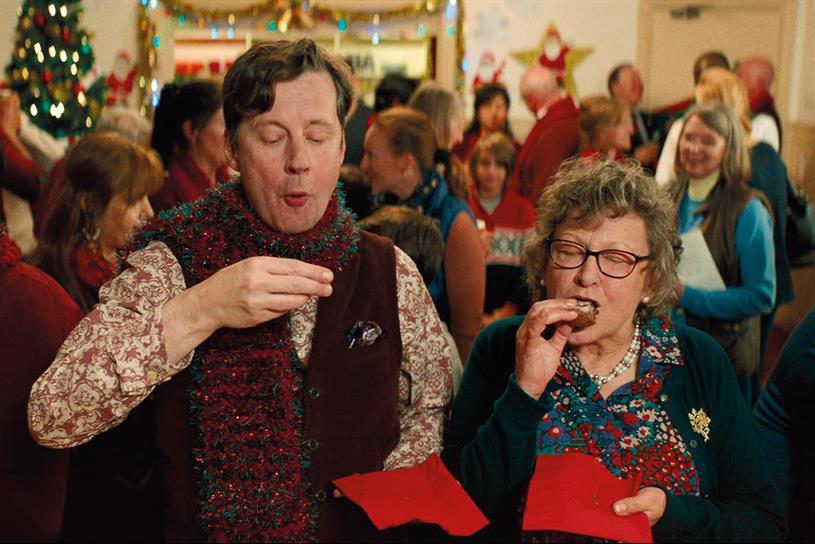 Waitrose: taken product-led focus in Christmas advertising