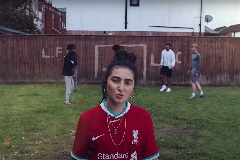 Nike: makes Liverpool's new kit