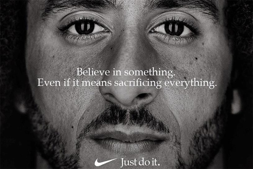Nike: cited as Black Lives Matter ally