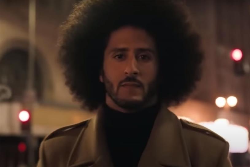 Nike: 'Dream crazy' starred Kaepernick
