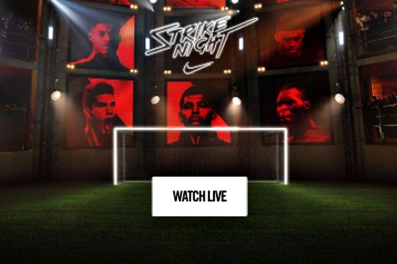 Nike to host 'Strike Night' event