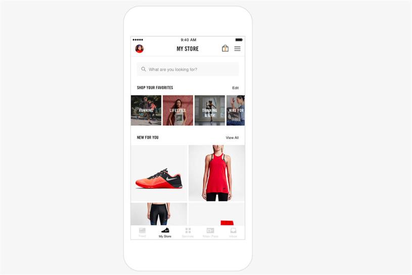 The relaunch of the Nike+ app will transform it into an exclusive, personalised store