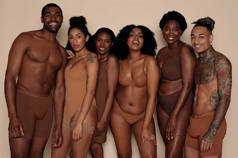 Nubian Skin: specialises in underwear and hosiery
