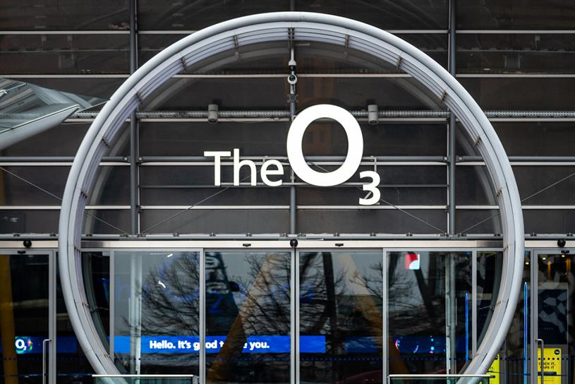 The O2: name change honours Drake
