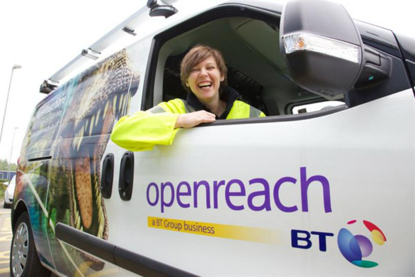 BT fined £42m over failure of its Openreach division to install high-speed lines