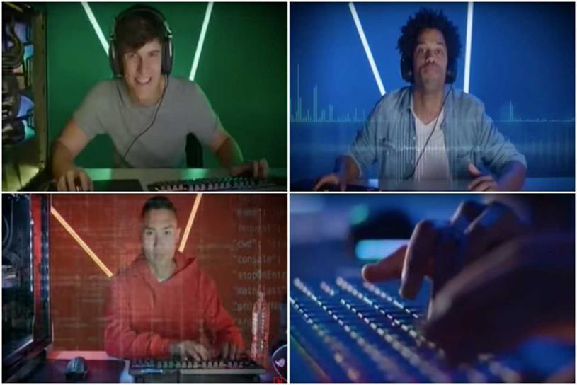 PC Specialist: ad starred three men