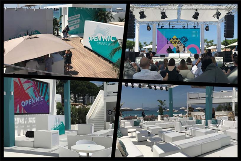 Philip Morris: Open Mic Lounge and panel session with Wyclef Jean