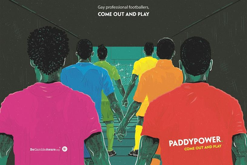 Paddy Power is launching an LGBTQ activation at Brighton Pride 2018