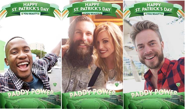 Gambling brands including Paddy Power have advertised on Snapchat