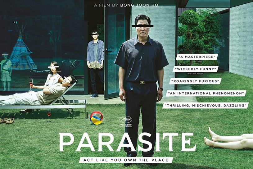 Parasite: won string of awards at Oscars