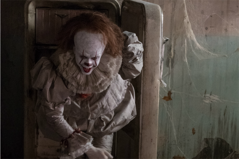 Pennywise: clown has featured in Warner Bros' activations