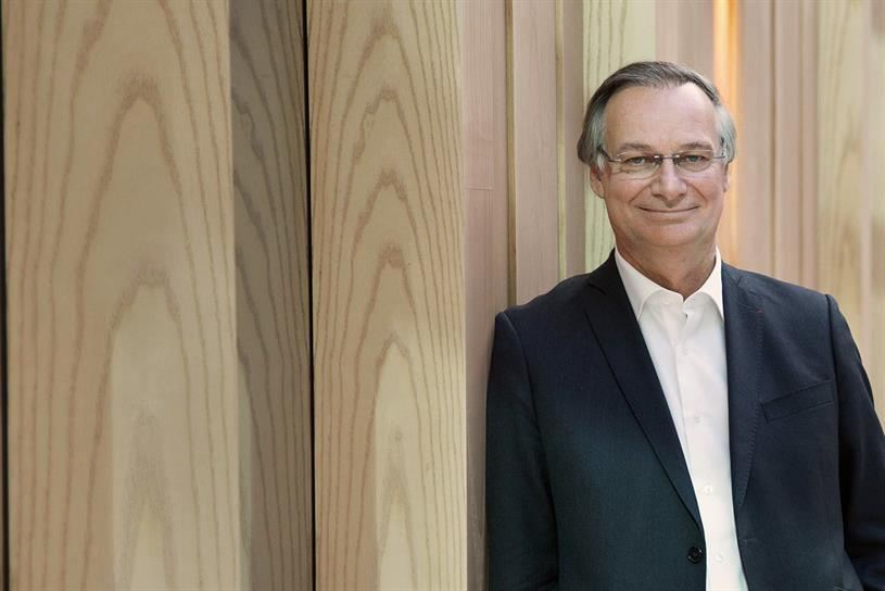 Accenture chairman and chief executive Pierre Nanterme