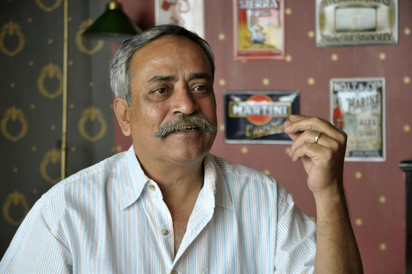 Pandey: named most influential man in Indian advertising for eight consecutive years