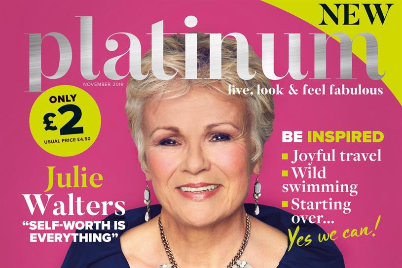 Platinum: debut issue features Walters