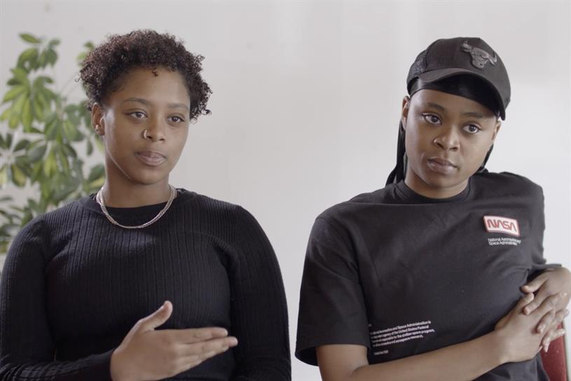 Create Not Hate: the video includes young black Londoners sharing their experiences