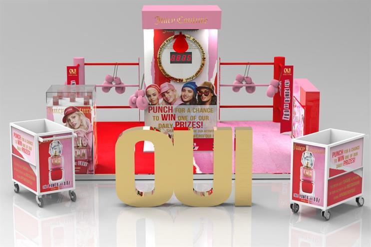 Revlon: activity for Juicy Couture fragrances