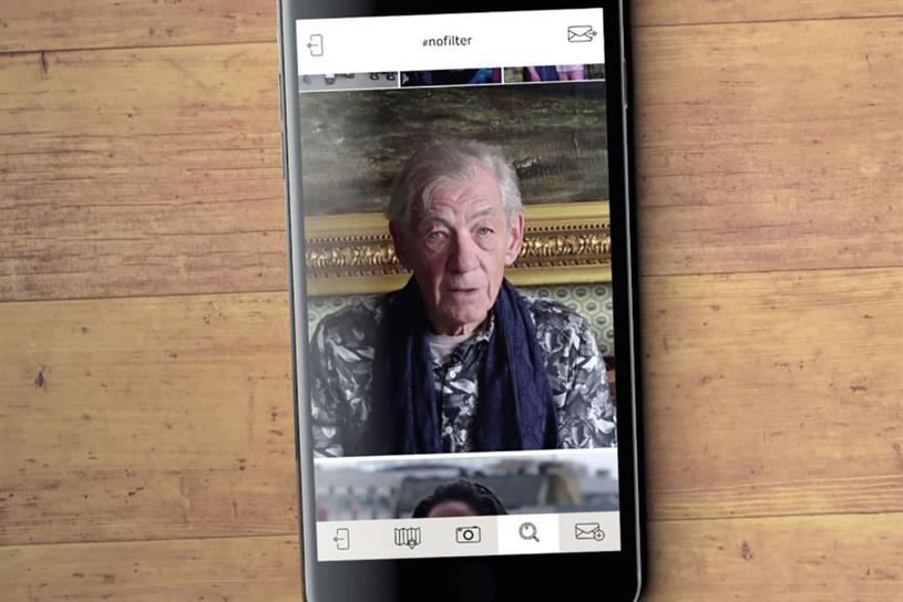 Pride: new ads star McKellen