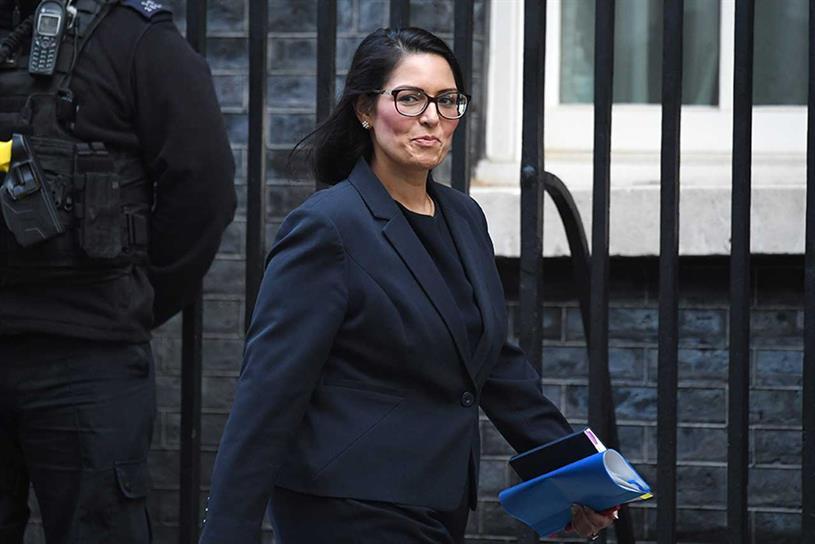Patel: home secretary (Getty Images)