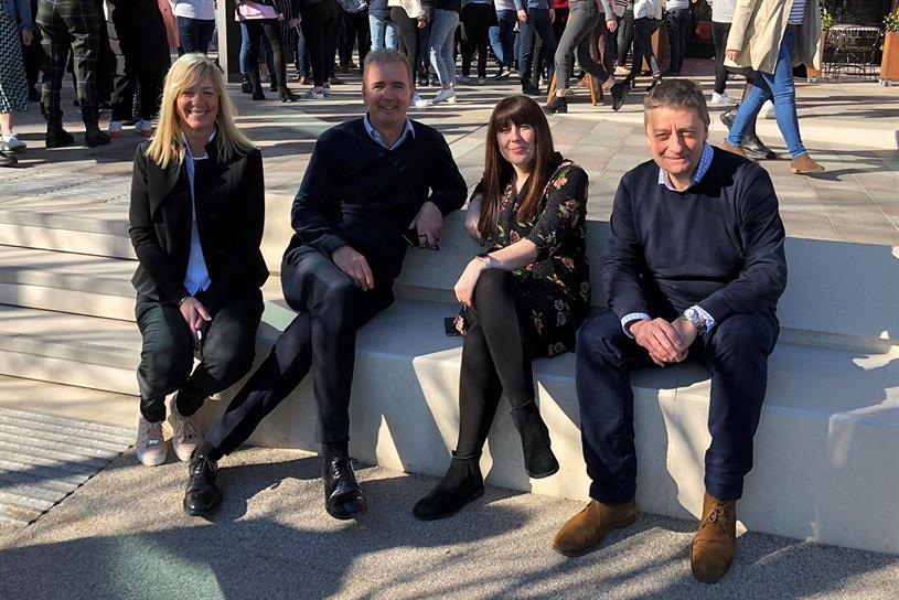 Publicis Media: Frogley, Phil Georgiadis, Gemma Dodd and Mark Howley