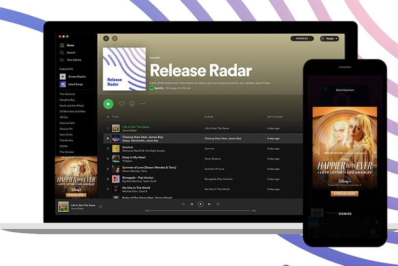 Spotify: playlist helps users discover new music from artists they love