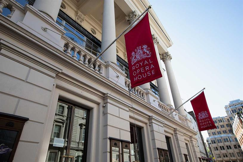 Royal Opera House: expected to benefit from government support