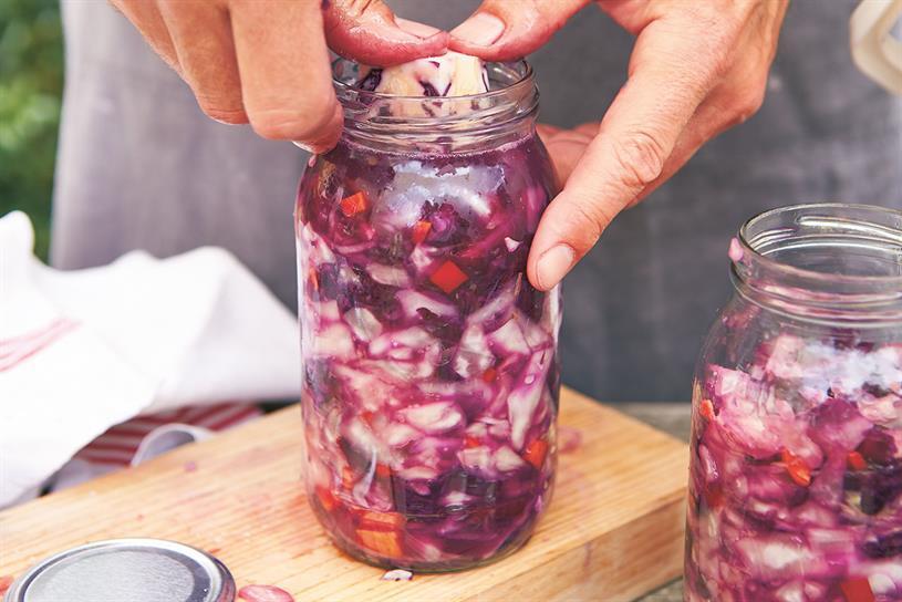 Rude Health: audience will learn how to make sauerkraut