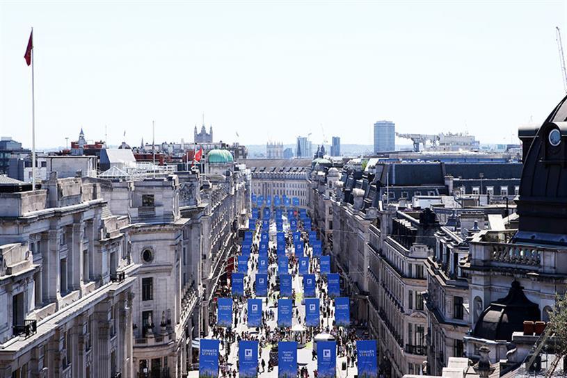 Regent Street Association's 'Summer streets'