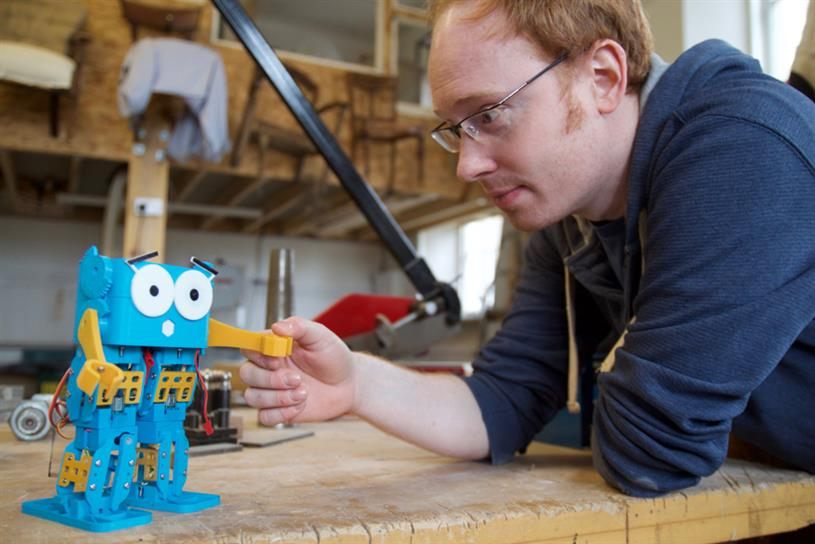 Robotical is aiming to raise £50,000 through a crowdfunding campaign on Indiegogo