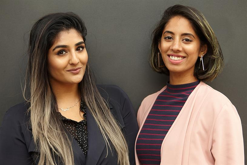 The Other Box co-founders: Leyya Sattar and Roshni Goyate