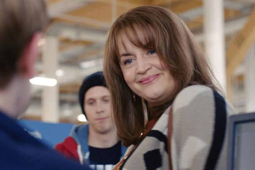 Tesco: has credited its current TV campaign with helping to improve perceptions