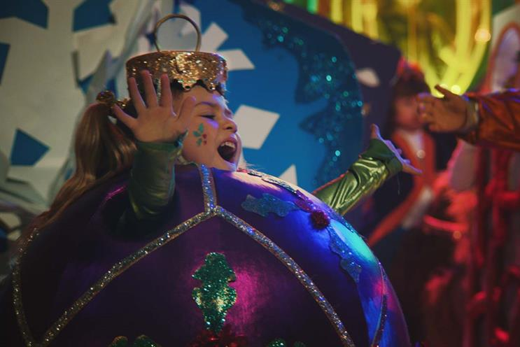 Sainsbury's: Christmas campaign featured school performance