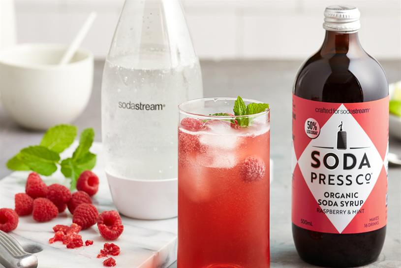 Soda Press: activation aims to bring new flavours to life