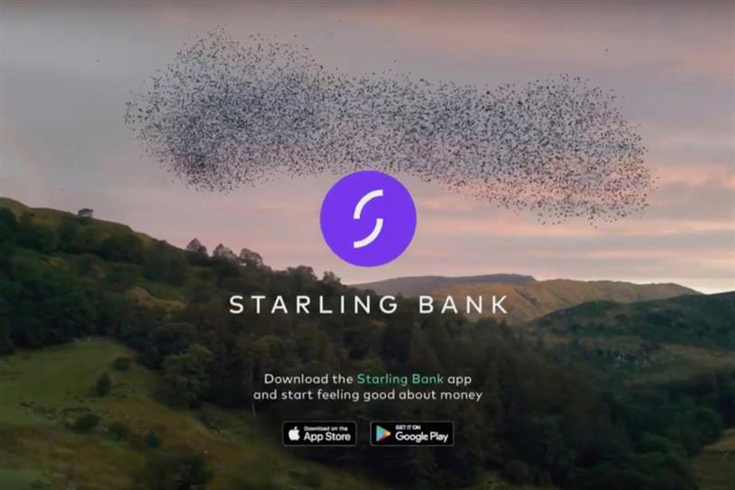 Starling: first-ever TV ad launched in October