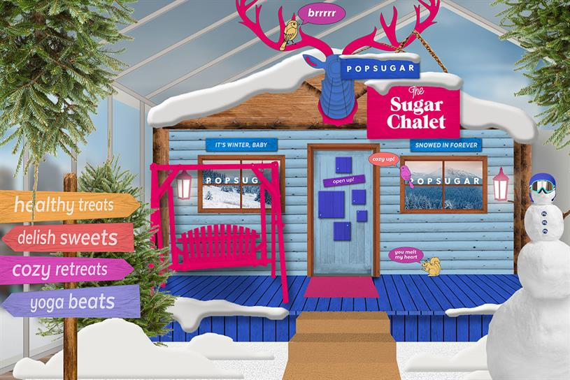 PopSugar: Chalet designed to feel like après-ski party