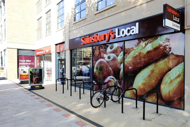 Sainsbury's Local: trial is taking place in Holborn, London