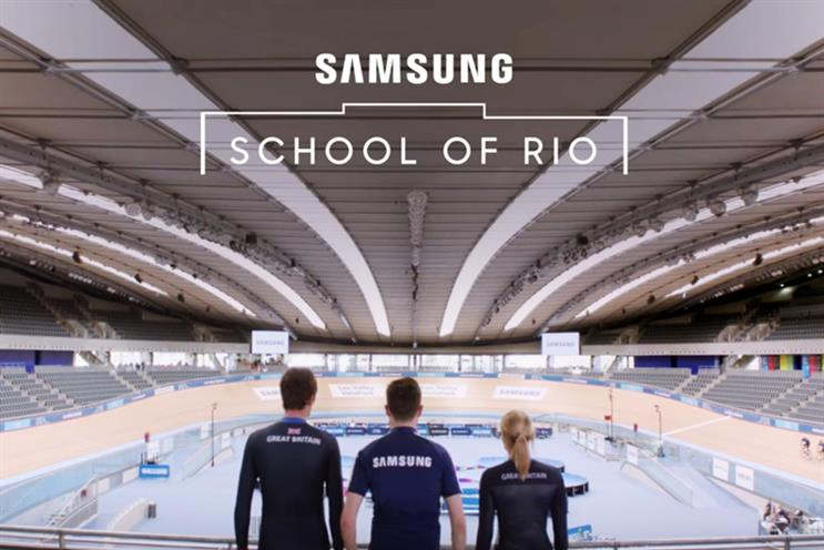 Samsung: shortlisted for Campaign Big Awards