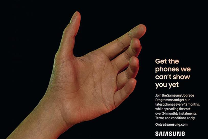 Samsung: BBH campaign promotes upgrade programme