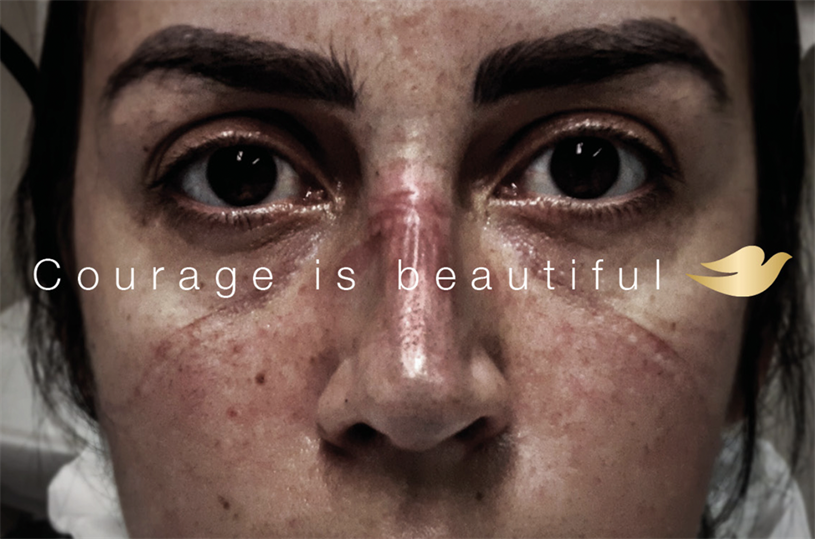 Dove's Courage is Beautiful campaign is in the running for a Cannes Lions Titanium award