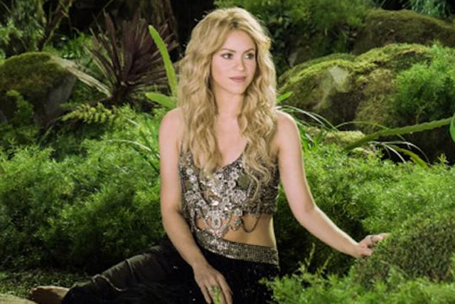 Shakira: stars in Activia's biggest integrated global communication campaign to date